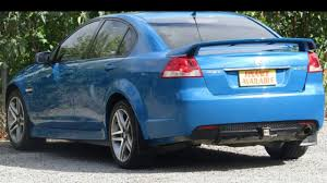2012 holden commodore ve ii my12 sv6 blue 6 speed sports automatic