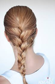 hair braid across back of head hairstyles for wet hair 3 simple braid tutorials you can wear in