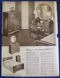 Sears Dining Room by Dining Room Bedroom Suite Furniture Home Decor Vintage 1940s Sears