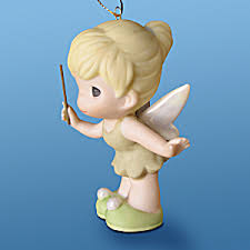 disney precious moments tinkerbell hallmark ornament 2010 disney
