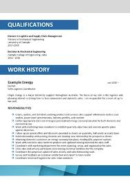 Sample Resume For Supply Chain Management by Corporate Resume Format