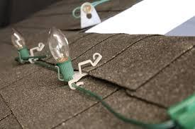 christmas light shingle clips installation manual
