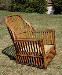 antique heywood wakefield stick wicker seating set at 1stdibs