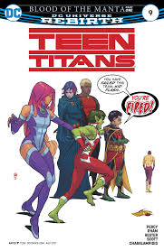 teen titans 2016 chapter 9 1