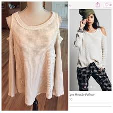 open shoulder sweater 46 free sweaters free open shoulder thermal
