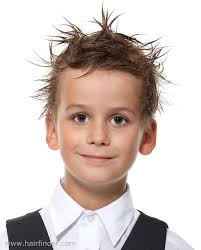 boy haircuts sizes short haircut with punk gel styling for little boys