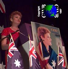Stephanie Banister Interview Pauline Hanson Oz Mudflats