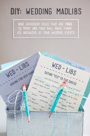 wedding mad libs template print your own wedding mad libs for free 9 themes