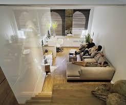 apartements simply mini modern minimalist living room alongside