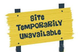 Site Unavailable - eos io temporarily unavailable steemit