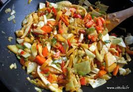 cuisiner legumes ottoki wok cuisine indienne végétarienne légumes mélangés