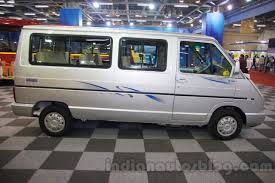 Tata Winger Dicor Bs4 Side View At The Bus And Special Vehicle