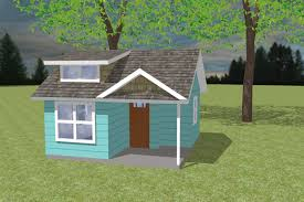 How Much To Build A Dormer Bungalow Bungalow Style House Plan 1 Beds 1 00 Baths 200 Sq Ft Plan 423 66