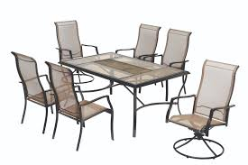 Steel Patio Table Furniture Contemporary Porch Decoration With Hton Bay Patio