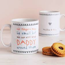 my fingers may be small but u2026 cute daddy mug by cloud 9 design