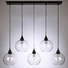 Glass Orb Pendant Light Modern Clear Glass Orbs Pendant Lighting 10095 Free Ship Browse