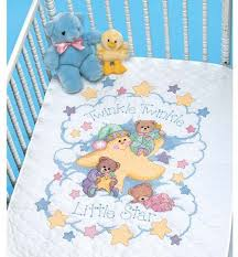 Duvet Cover For Baby Baby Quilts Cross Stitch Patterns U0026 Kits 123stitch Com