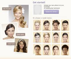 what would i look like with different hair wedding day hair virtual makeovers leawood wedding photographer