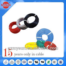 ul 20awg fep lead cable shield wire ul1332 electric wire color