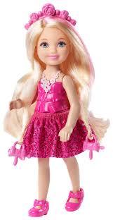 barbie endless hair kingdom chelsea doll pink target