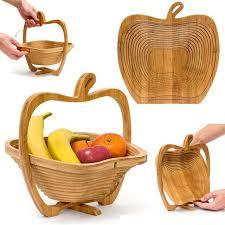 panier cuisine bambou pliable pommes forme panier cuisine fruits légumes panier de