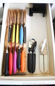 best way to store kitchen knives 65 ingenious kitchen organization tips and storage ideas