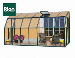 Greenhouse 6x8 Rion Sun Lounge 2 6 U0027 X 8 U0027 Patio Enclosure Polycarbonate