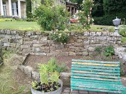 Stone For Garden Walls by How To Build A Natural Dry Stacked Stone Free Standing Or