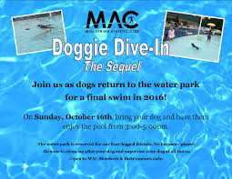 doggie dive in the sequel midlothian athletic club