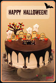 halloween graveyard sheet cake u2013 festival collections