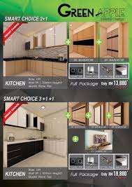 kitchen cabinet and wardrobe promotion green home interior