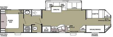 Class A Motorhome With 2 Bedrooms Remarkable Design 2 Bedroom Rv Bedroom Class A Rv Clairelevy