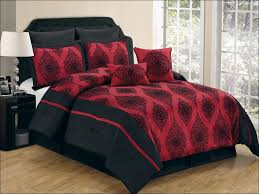 Red And Black Comforter Sets Full Bedroom Marvelous Black And White Bedspreads Queen Black Twin