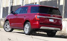 ford expedition red first drive ford updates the 2018 expedition with more power
