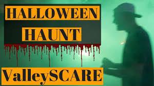 halloween haunt valleyscare at valleyfair youtube