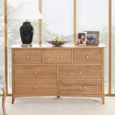 Oak Vanity Table With Drawers Edward Hopper Oak Furniture Bedside Table Chest Of Drawers