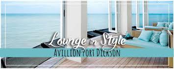 avillion port dickson vip lounge u0026 foodie fabulous luxury bucket