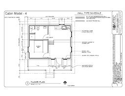 cabins romtec inc floor plan of large multi room cabin
