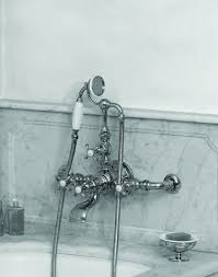 la chapelle wall mount tub mixer w hand shower jack london