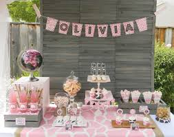 vintage baby shower decorations welcome your baby with baby girl shower decorations home design