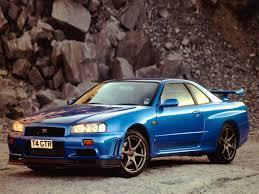 blue nissan skyline nissan skyline r34 gt r v spec ii image automotive enthusiasts