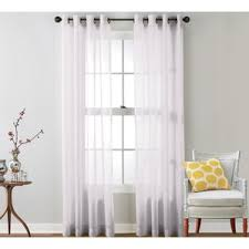 white curtains u0026 drapes you u0027ll love wayfair