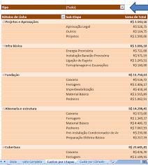Top Baixar Lista de Materiais e Serviços | PlanilhasdeObra.com – O  #KT06