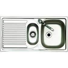 Wickes   Bowl Reversible Kitchen Sink With Tap Stainless Steel - Kitchen sink co