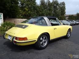 Porsche 911 Yellow - porsche 911 e cabriolet roadster 1970 yellow e for sale dyler