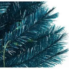 4 u0027 pre lit artificial christmas tree translucent turquoise clear