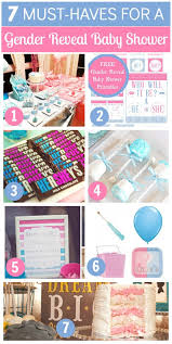baby shower gender reveal 7 must ideas for your gender reveal baby shower catch my party