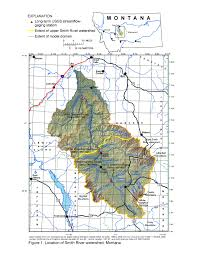 Montana River Map by Hydrologic Investigation Of The Smith River Watershed Usgs