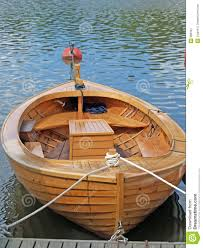 a boat made from wood with a bar stock image image 988161