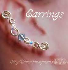ear pins ear climbers ear pins ear sweeps beginner wire jewelry tutorial